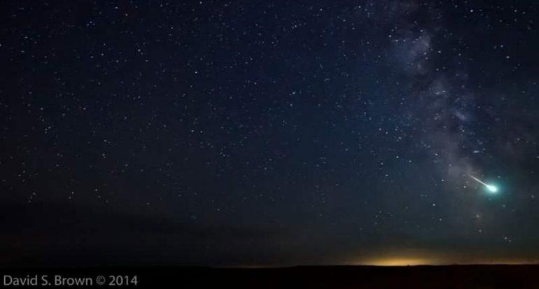 Cómo ver la lluvia de meteoros Delta Acuáridas