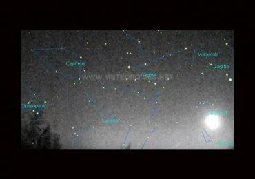 Caída frecuente de meteoritos en España
