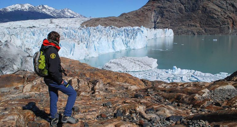 Caminando sobre hielos