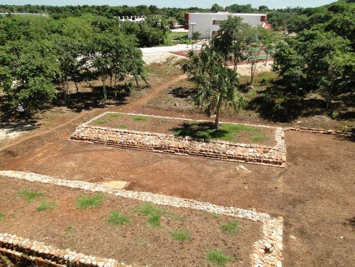 Cancha prehispánica
