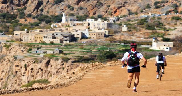 Carrera de aventura en Omán