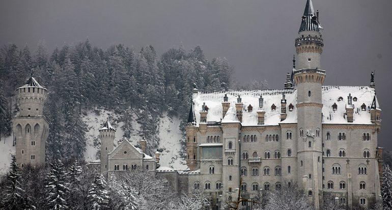 Castillos de novela y cuentos de hadas