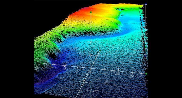 Científicos crean mapas del volcán más grande del mundo