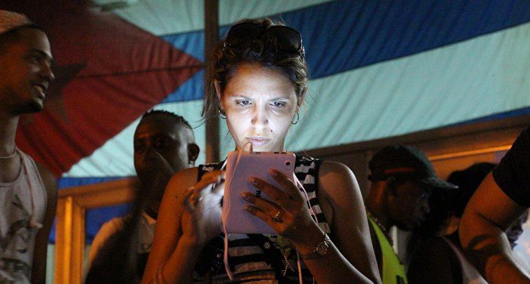 Conexión en Cuba