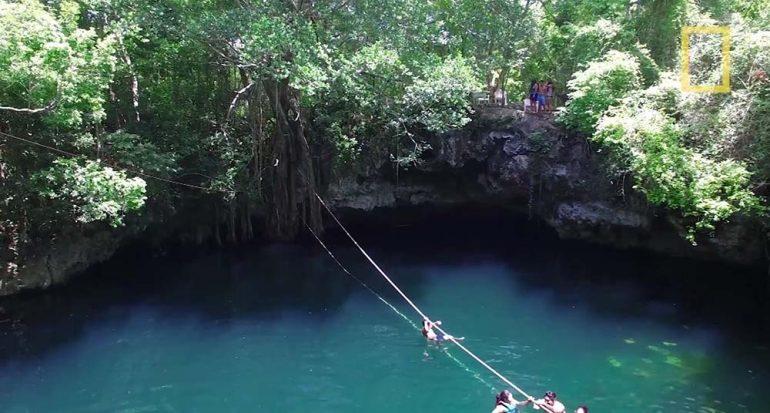 Conoce el Cenote Verde Lucero