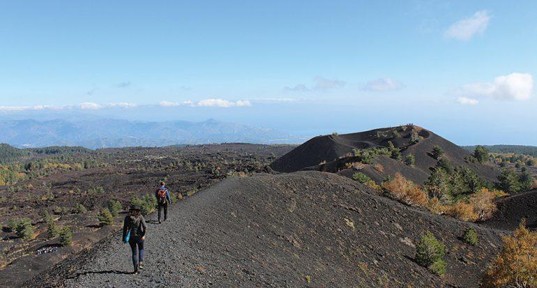 Conquistando a la ninfa Etna