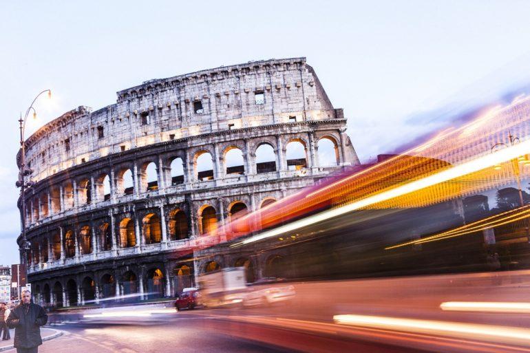 Cuando en Roma...