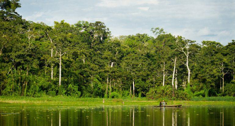 De excursión por la selva de Perú