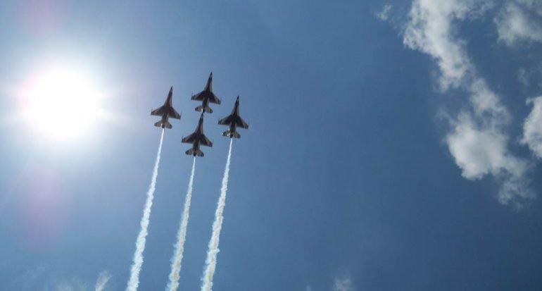 De los más grandes espectáculos aéreos del mundo