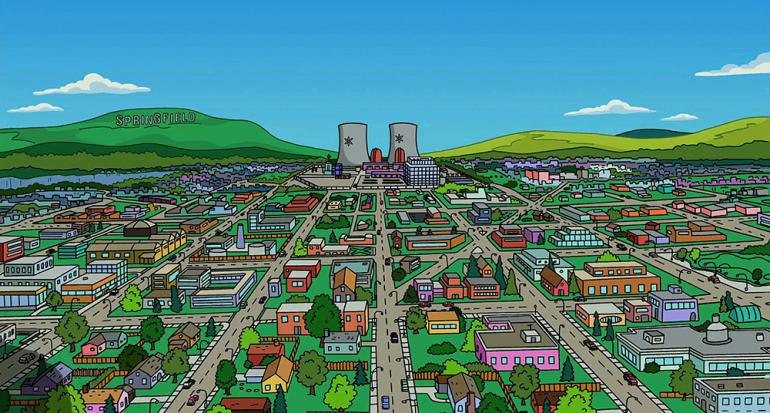 Descubre qué ciudad fue fuente de inspiración del verdadero Springfield