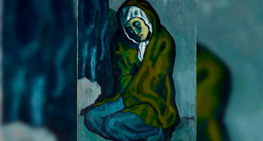 Descubren obra oculta de otro artista en pintura de Picasso