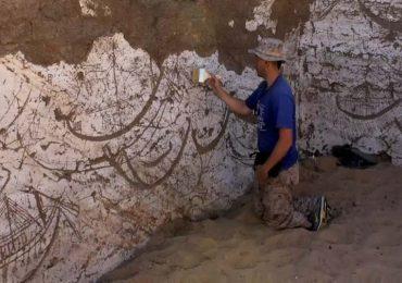 Descubren tumba de un barco faraónico en Egipto