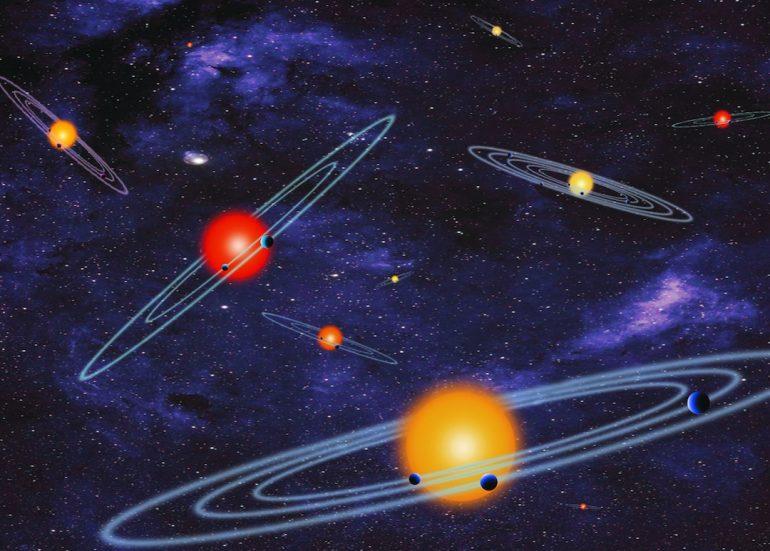 Descubrimiento de 715 planetas
