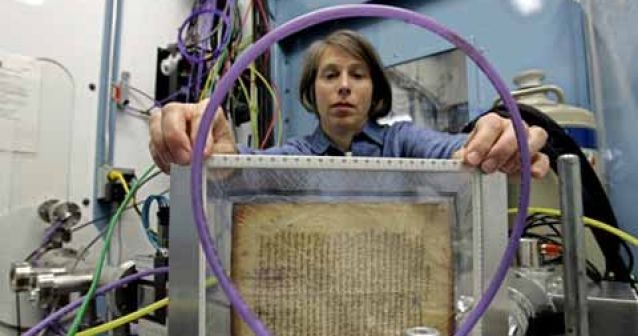 Detectan nueva capa con antiguos escritos griegos en un libro medieval