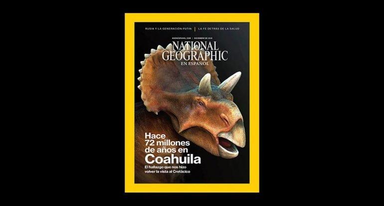 Detrás de cámaras: portada de diciembre de National Geographic
