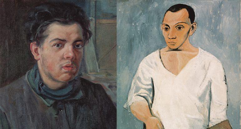 Diego Rivera y Pablo Picasso llegan a la Ciudad de México