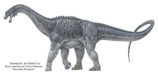 Dinosaurio en Argentina