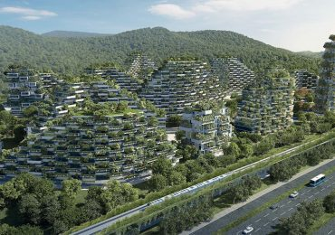 """Diseñan la primera """"ciudad bosque"""" para combatir la contaminación"""