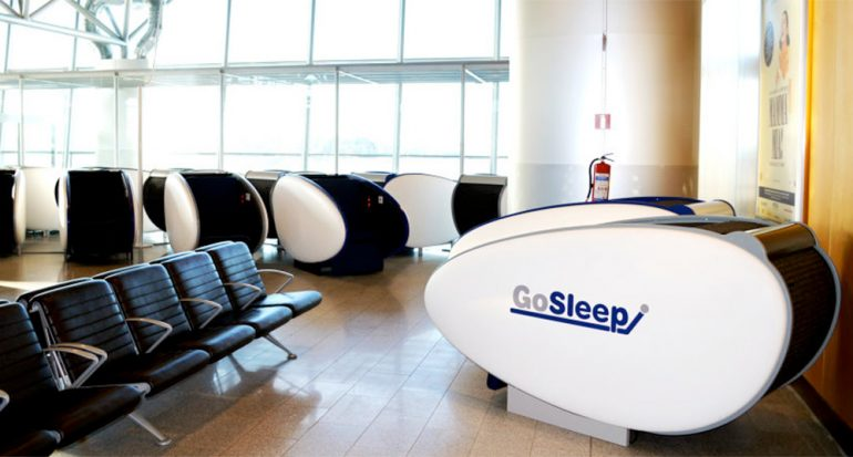 Duerme mientras esperas tu vuelo