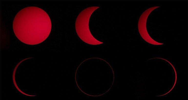 Eclipse solar anular asombró a observadores de Sudamérica