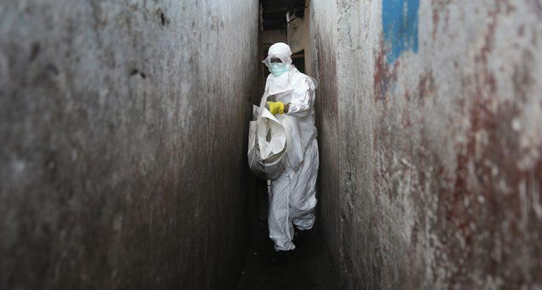 El Ébola en su peor propagación