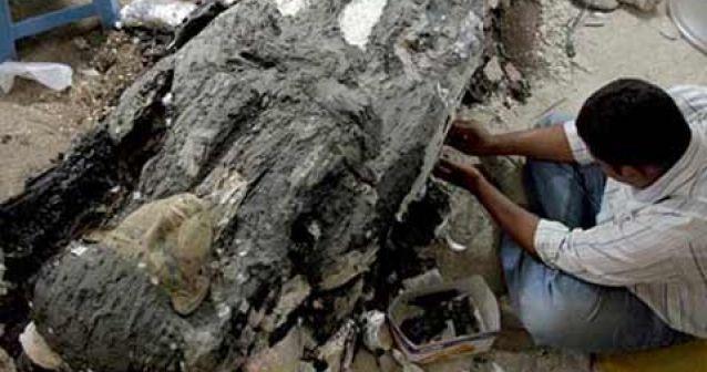 El último de los sarcófagos del Valle de los Reyes