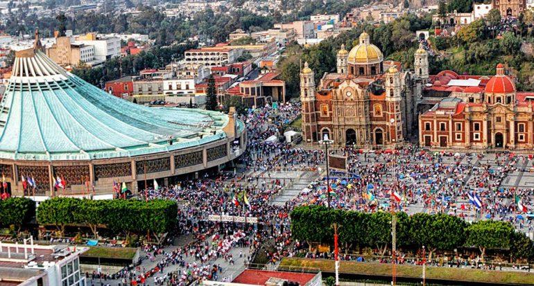 El 12 de diciembre la CDMX recibe peregrinos de todo el mundo
