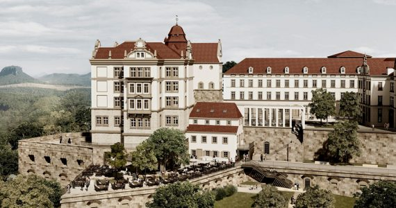 El Castillo Sonnenstein fue un centro de eutanasia de los nazis
