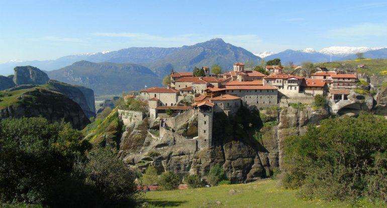 El Greek Canyon y los monasterios de Meteora
