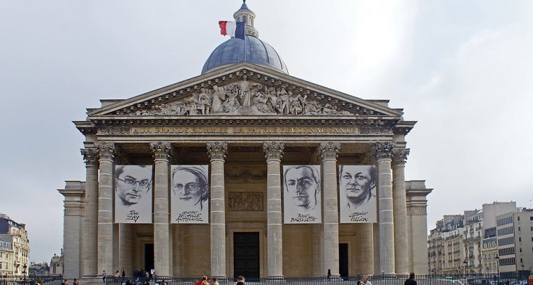 El Panteón de París realiza una exposición en homenaje a Marie Curie