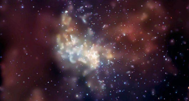 El agujero negro en el centro de la Vía Láctea expulsa ?planetas?