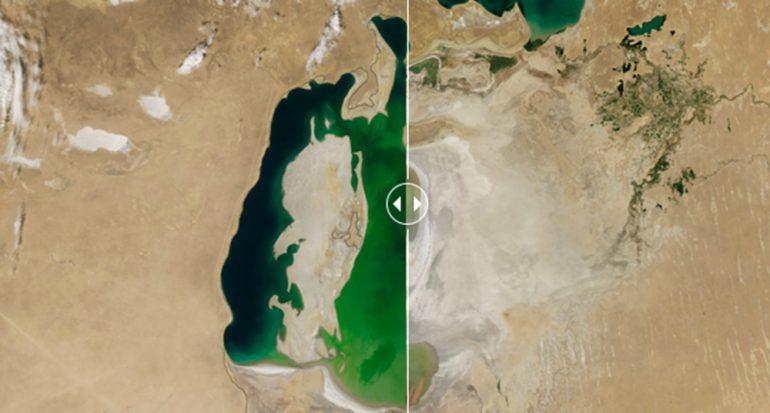 El antes y después del cambio climático