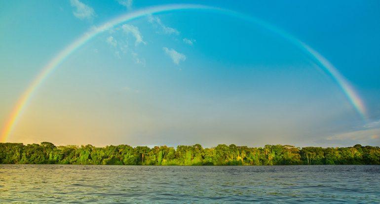 El arcoíris que nos iluminó