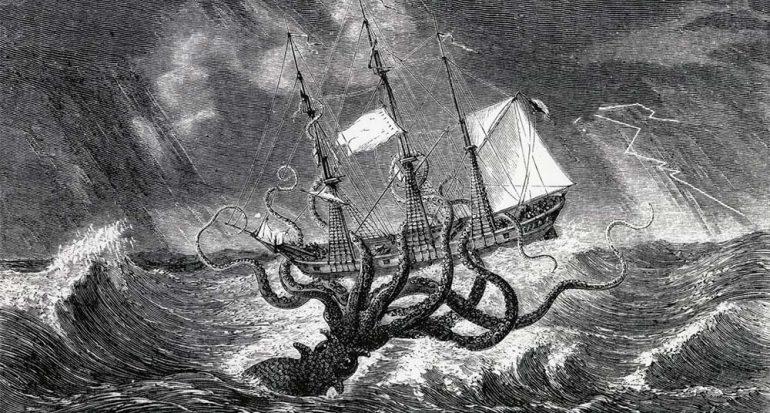 El calamar gigante podría ser más grande que un autobús escolar