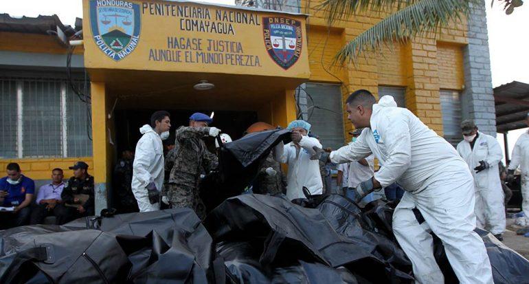 El caos en los penales de Honduras