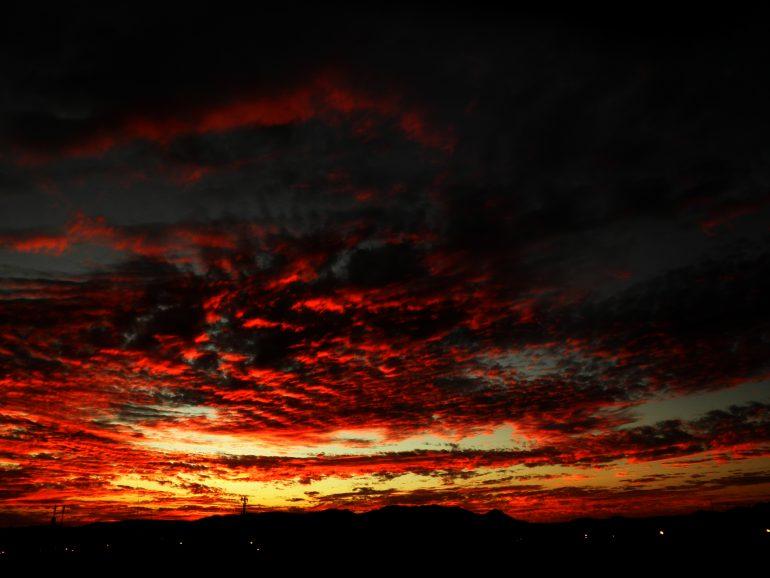 El cielo rojo de Aguascalientes