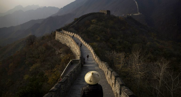 El deterioro de la Muralla China