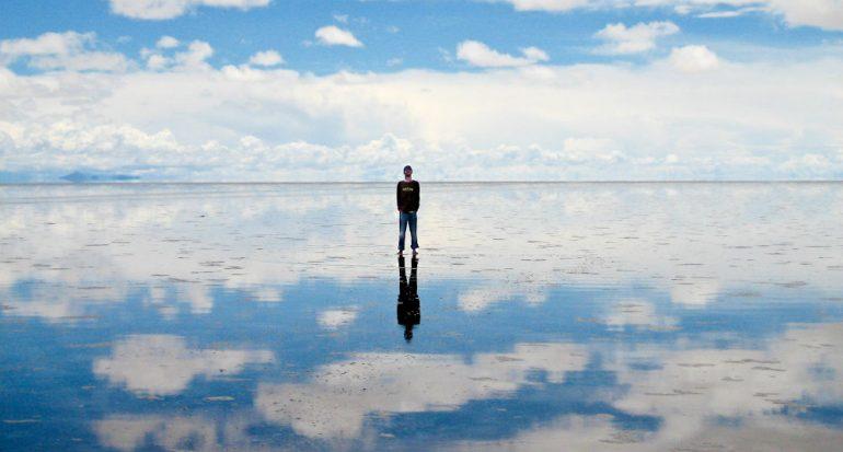 El espejo más grande del planeta