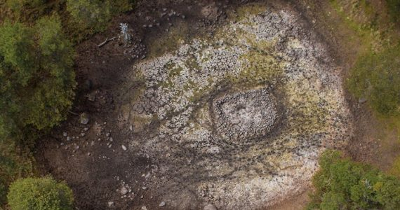 El estanque de Nahualac pudo representar la creación del mundo