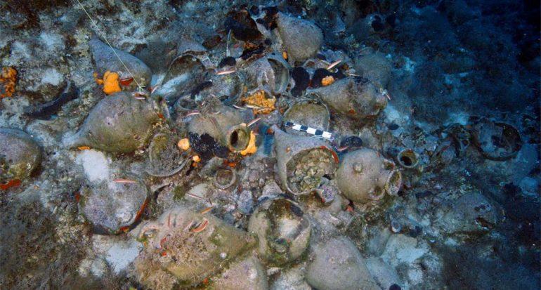El hallazgo de 22 naufragios griegos antiguos