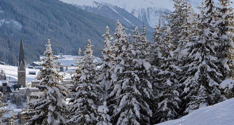 El invierno regresó a los Alpes
