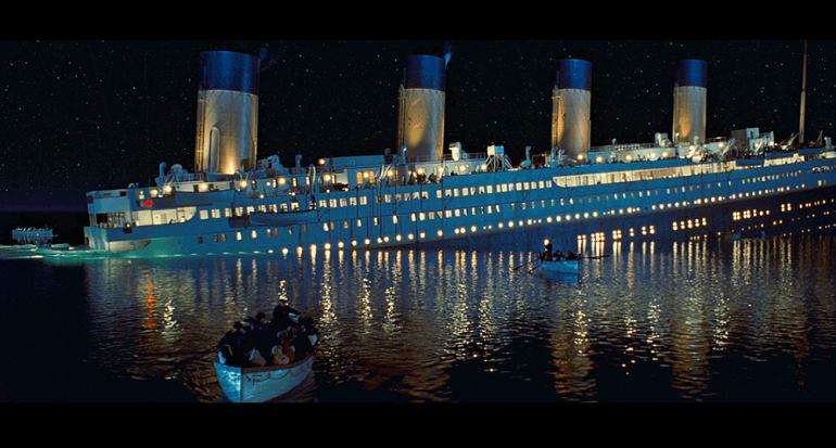 El libro más lujoso del mundo se hundió en el Titanic