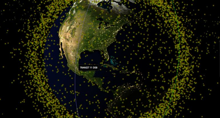El mapa 3D de todo lo que rodea la Tierra