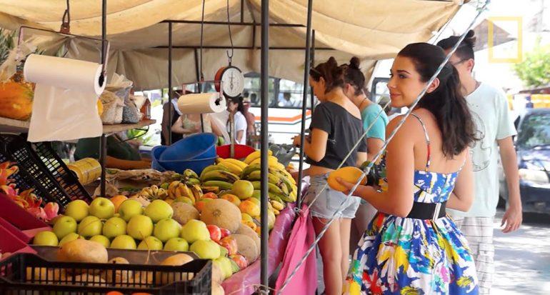El mercado orgánico de Puerto Morelos