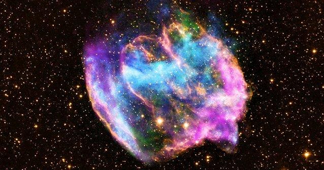 El nacimiento de un agujero negro