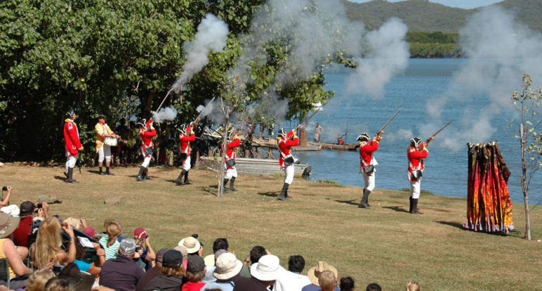 El norte de Australia celebra a James Cook