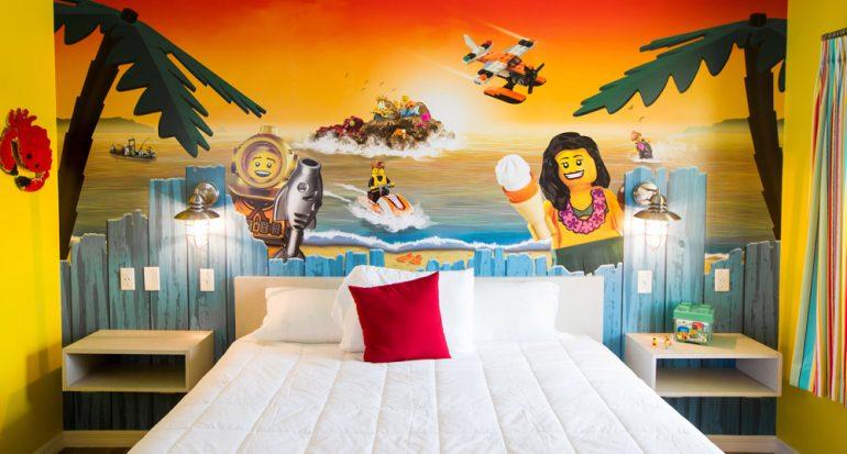 El nuevo hotel de Lego junto a la playa