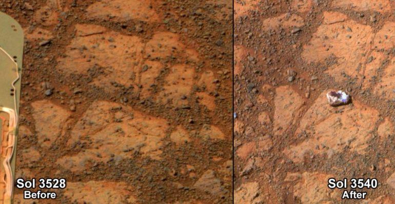 El nuevo misterio en Marte