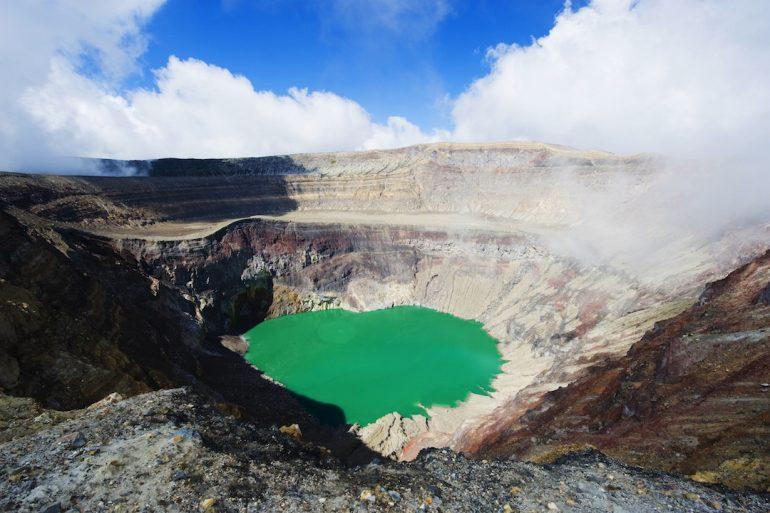 El país de 170 volcanes