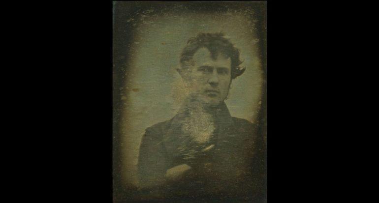 El primer autorretrato fotográfico de la historia